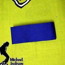 Michael Jackson blu armbinde Armband 6 cm x 38 cm per MJ Fans 084