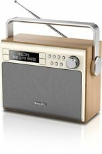 Philips Ae5020/05 Portable Radio DAB and FM Digital Tuning With Preset Stations