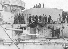 Russian Battleship Evstafiy 1914 World War 1 5.5x4 Inch Reprint Photo 1