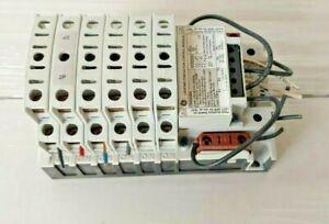GE CR460B MECHANICALLY HELD LIGHTING CONTACTOR COIL 120 VAC 12 POLE