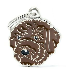 Lagotto Romagnolo Dog ID Tag (89) - Engraved FREE - Personalised - Keyring
