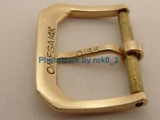VINTAGE OMEGA 14K 14ct 14KT YELLOW GOLD 16mm Tang PIN Buckle Clasp UN POLISHED!!