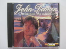 JOHN DENVER Chistmas Like a Lullaby - Music CD - VGC