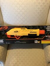 NEW Nerf Alpha Strike Double Barrel Blasting Tiger DB-2 w/ 12 Darts Toy Gun