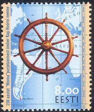 """Estonia 2004 """"hioma""""/CAPO HORN/Barche/Nautico esplorazione/mappa/RUOTA 1v (n15476)"""