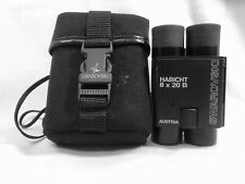 SWAROVSKI OPTIX BINOCULARS HABICHT 8 X 20 B MADE IN AUSTRIA WITH CASE