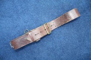 WW11 era British Army Officer's Leather Sam Browne Belt.