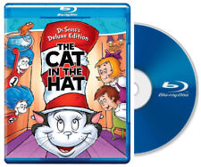 The Cat in the Hat Dr. Seuss Deluxe Edition (Blu Ray DVD)  NEW