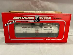 American Flyer S Gauge 6-48495 Monsanto 1-Dome Tank Car Mint in Original Box