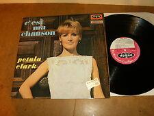 PETULA CLARK : C'EST MA CHANSON - LP FRANCE années 60's - VOGUE CLD 706 30