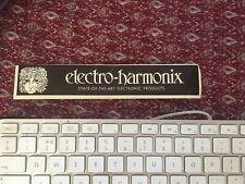 More details for vintage electro-harmonix bumper sticker