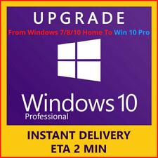 Windows 10 Pro Retail 32/64-bit Genuine Key Instant delivery - Upgrade to Pro