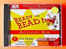 Ready to Read Activity Box - New Sealed Cd Rom Software * Free Shipping *
