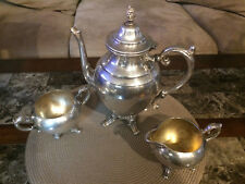 Vintage William Rogers Silver-Plated 3 Pc Tea Set