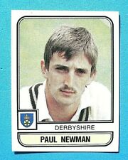 PANINI.. CRICKET 83...X 1 STICKER. ..# 15   PAUL NEWMAN    DERBYSHIRE  ...VG