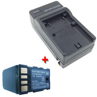 Battery&Charger for JVC Everio GZ-MS120U GZ-MS120AU GZ-MS120BU MS120RU Camcorder