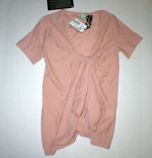 New Womens NWT M Blush Pink Sonia Rykiel Virgin Wool Sweater 38 Knot Italy Pullo