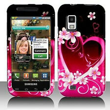 For Samsung Fascinate i500 Protector Hard Case Snap on Phone Cover Purple Love