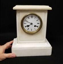 Antique Marble Mantle Clock