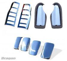 Per adattarsi 00 - 06 FORD TRANSIT Specchio Cromata Maniglia Porta + + FANALE POSTERIORE copre set