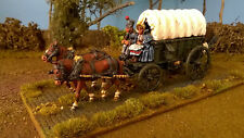 28mm Napoleonic French Wagon & crew PAINTED Perry Miniatures