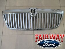 2005 & 2006 Lincoln Navigator OEM Genuine Ford Chrome Grill Grille w/Emblem NEW