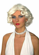 Vintage Hollywood Wig - White
