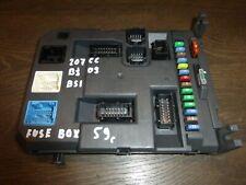 Peugeot 207 CC  Sicherungskasten BSI Fuse Box 9664983080