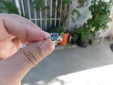 Alexandrite Sapphire & Genuine Diamond Ring