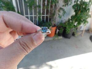 Alexandrite Sapphire & Genuine Gemstones Ring  size 7
