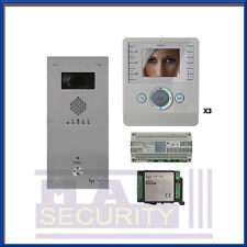 BPT - 1 modo PERLA Kit Video con 3 monitor e VANDAL resistente Panel-vrpwv1 -
