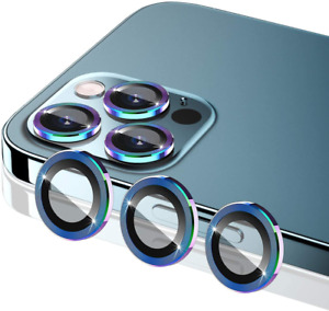 [6 Pack] Camera Lens Protector Compatible with iPhone 12 Pro Max (6.7 inch) - Co