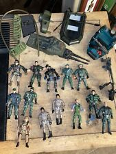 Vintage LOT of 14  Toy Soldier Action Figure & Vehicle G. I. Joe Army Men  LOOK!