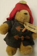 Paddington Bear Plush Eden  Blue Coat Red Hat Vintage
