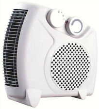 2000W 2KW Portable Silent Electric Fan Heater Hot & Cold Thermostat Flat/Upright
