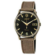 Tissot Heritage Visodate Black Dial Brown Leather Men's Watch T1184103605700