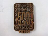 1994 Indianapolis 500 Bronze Pit Badge Al Unser Marlboro Penske Ford Mustang