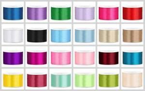 25m Roll Satin Ribbon 50 MM X 25 M, Wedding - Decorative Ribbon Gift Ribbon Band