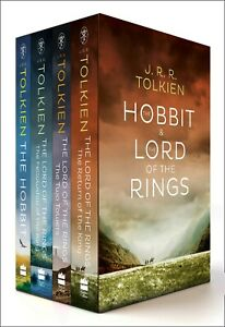 The Lord of the Rings & the Hobbit: 4 Book Box Set
