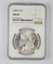 MS63 GRADED - 1885-O Morgan Silver Dollar- NGC *890