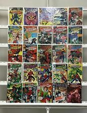 Amazing Spider-man  Marvel  25 Lot Comic Book Comics Set Run Collection Box