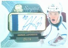 ROOKIE /35 GABRIEL LANDESKOG THE CUP SCRIPTED SWATCHES jersey PATCH AUTO 2011 12