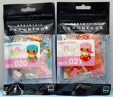 Sanrio Little Twin Star Nano Block NBCC020, 021, 2pcs - Kawada    .h#11ok