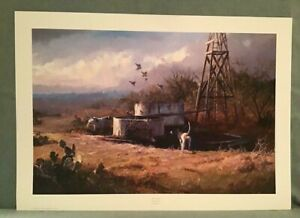 """Hide and Seek Print Signed/Numbered By:James Robinson~192/1000~Paper 34""""Wx24""""H"""