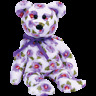 """TY BEANIE BABIES  """"NARA KOREA ASIA PACIFIC FLOWER II NEW WITH MINT TAG"""