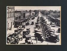 Henderson, Texas - Model T Fords In 1927 Vintage Photo Matted Print