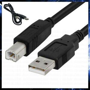 CAVO USB STAMPANTE 1,8 METRI CAVETTO A/B FILO PROLUNGA PER PC STAMPANTI HP EPSON