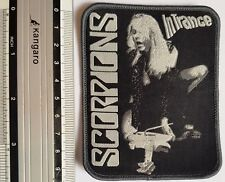 Scorpions -  Limited edition patch -WOVEN SEW ON PATCH - free shipping
