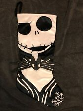 New Nightmare Before Christmas Jack with Bat Tie Stocking