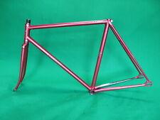 Makino  NJS Keirin Frame Set Track Bike Fixed Gear Fixie 52.5cm